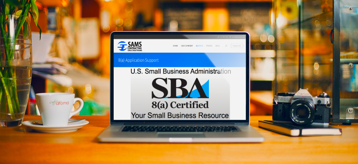 8a certification application consulting support services